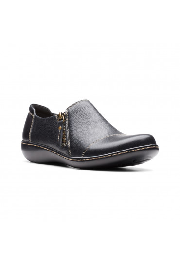 CLARKS ASHLAND PALM BLACK