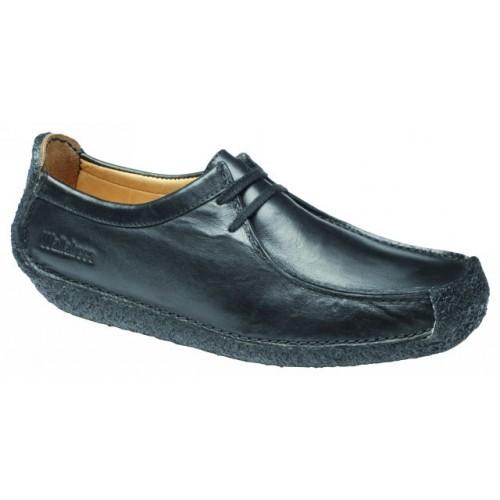 clarks natalie black leather