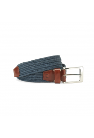 BORN FABRIC BELT NAVY FABR