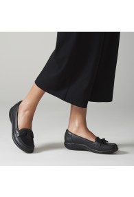 CLARKS ASHLAND BUBBLE BLACK