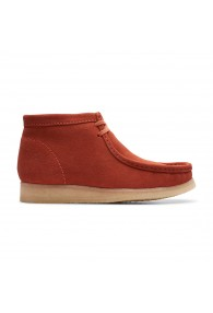 CLARKS WALLABEE BOOT BURNT ORAN