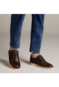 CLARKS DESERT LONDON CHESTNUT