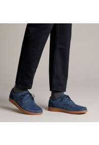 CLARKS OAKLAND CRAFT NAVY