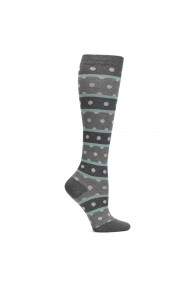 COMFORTIVA COMPRESSION SOCKS HEATHER