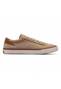 CLARKS ACELEY LACE TAUPE SUEDE