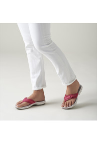CLARKS BREEZE SEA BRIGHT ROSE