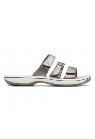 CLARKS BRINKLEY COAST PEWTER