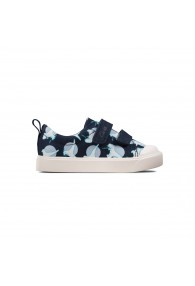 CLARKS CITY BRIGHT T NAVY INTEREST
