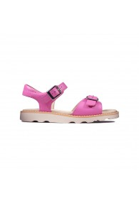 CLARKS CROWN BLOOM KID HOT PINK