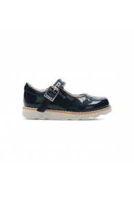 CLARKS CROWN JUMP T NAVY PATENT
