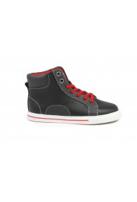 FLORSHEIM VARSITY HIGH TOP JR. BLACK