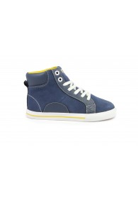 FLORSHEIM VARSITY HIGH TOP JR. NAVY