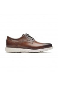ROCKPORT GARETT PLAIN TOE COGNAC