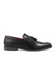 STACY ADAMS QUINBY SLIP ON BLACK