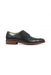 FLORSHEIM SALERNO CAP TOE BLACK