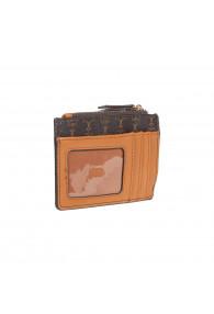 NANETTE LEPORE TZ CARD CASE CHOC/VAC