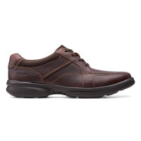 CLARKS BRADLEY WALK BROWN