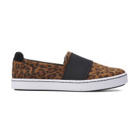 CLARKS PAWLEY WES TAN LEOPARD