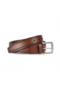 BORN STITCH COMFORT BELT TAN