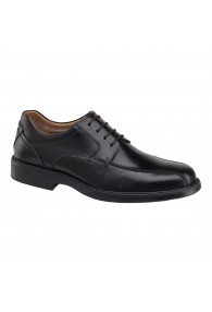 JOHNSTON & MURPHY STANTON LACE OXFORD BLACK