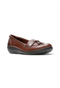 CLARKS ASHLAND BUBBLE BROWN