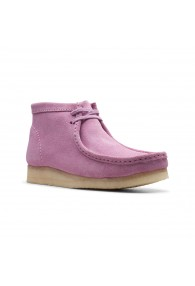 CLARKS WALLABEE BOOT LAVENDER SUE