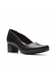 CLARKS UN DAMSON STEP BLACK