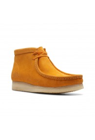CLARKS WALLABEE BOOT *LP* YEL