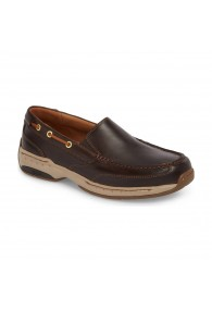 DUNHAM WATERFORD SLIPON TAN