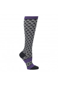 COMFORTIVA COMPRESSION SOCKS BLACK