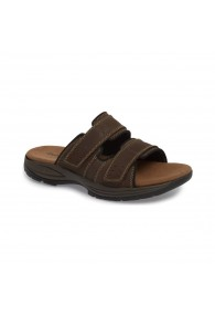 DUNHAM NEWPORT SLIDE BROWN