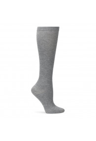 COMFORTIVA COMPRESSION SOCKS GREY HEATHER