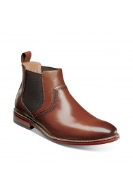 STACY ADAMS ALTAIR CHELSEA BOOT COGNAC
