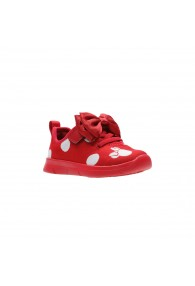 CLARKS ATH BOW T RED