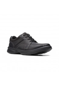 CLARKS BRADLEY WALK BLACK