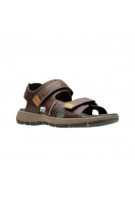 CLARKS BRIXBY SHORE DARK BROWN
