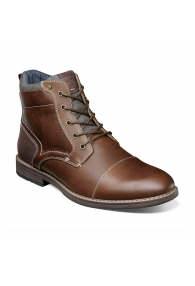 NUNN BUSH FUSE CAPTOE CHUKKA BRANDY