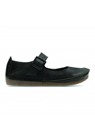 CLARKS JANEY JUNE BLACK NUB
