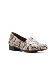 CLARKS JULIET LORA TAUPE SNAKE