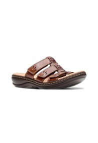 CLARKS LEISA SPRING BROWN