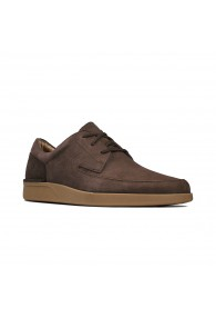 CLARKS OAKLAND CRAFT DK BROWN