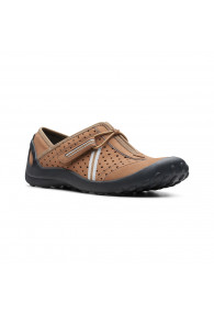 CLARKS P-TEQUINI BROWN