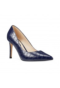 NINE WEST EZRA NAVY CROC