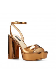 NINE WEST ZENNA BRONZE PAT