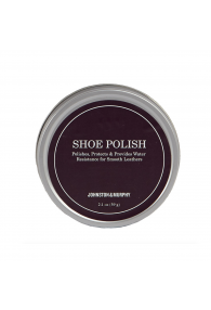 JOHNSTON & MURPHY BLACK WAX POLISH BLACK
