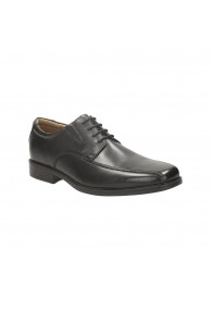 CLARKS TILDEN WALK BLACK